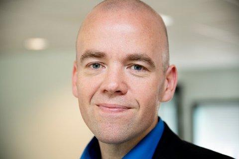 SLUTTER: Daglig leder og ansvarlig redaktør i Østlendingen, Tom Martin Kj. Hartviksen, slutter i jobben etter fire år og blir ny eneleder i GD.