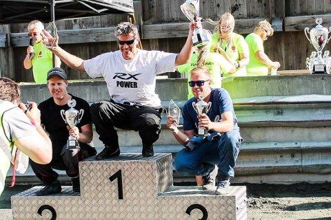 Frode Leirhol på 1. plass, med Espen Borge på 2. plass og Øyvind Myhren på 3. plass.