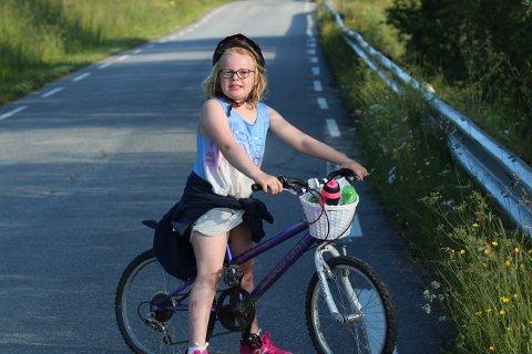 For Kirsti Hatterud Hovdet (7) har sommaren starta heilt topp.