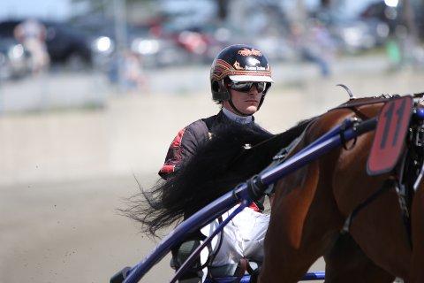 Dag-Sveinung Dalen kusket talentet Lome Diva inn til en flott tredjeplass i comebacket.