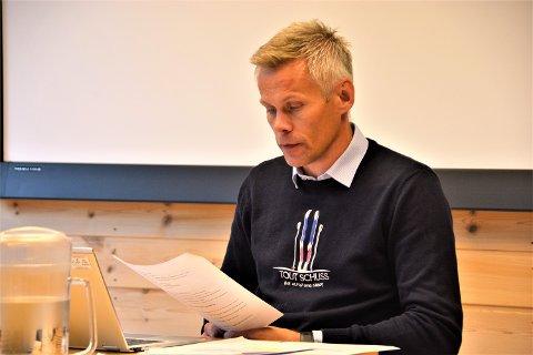 Undres: - Kommunen har ikke mottatt noen henvendelse fra helsedirektoratet, og vi undres over at de gir uttale basert på journalistens spørsmålsstilling, uten å innhente kommunens vurderinger, sier kommunedirektør Kristian Damstuen.