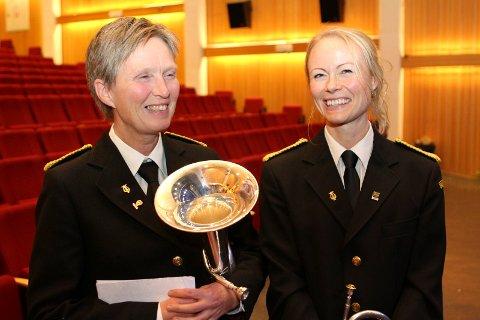 Birgitta Eraker og Kaja Funder Idstad er årets vinnere av kulturprisen i Nord-Aurdal