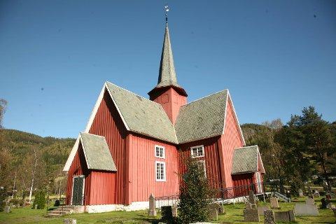 Bagn kirke er en av kirkene som holder åpent under allhelgenshelga.