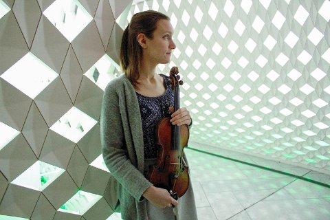 Solist: Konsertmester Guro Kleven Hagen stiller som solist i vante omgivelser når hun 18. oktober spiller på hovedscenen med Operaorkesteret.