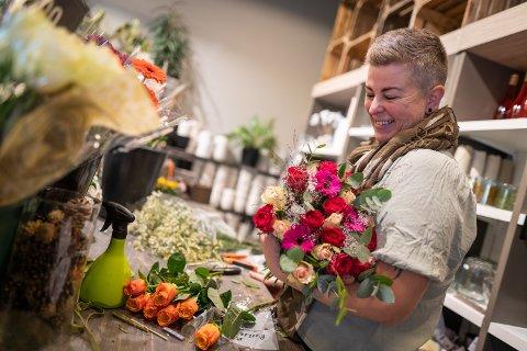 IKKE NYTT: Sissel Marit Fjelltun har drevet for seg selv før, men det ble mer hyttevask enn gartnerjobb. Nå får hun rette fullt fokus på det hun er utdannet som.