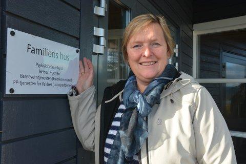 GIR RÅD: Leder for familiens hus, Inger Torun Klosbøle, råder folk til å ta godt vare på seg sjøl i disse krisetider.