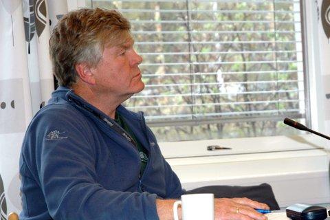 Kjempa: Leif Solemsli frå Bygdelista argumenterte sterkt for at Vang skulle løyve 125.000 kroner i investeringsstøtte til museet framfor å gje garanti for eit låneopptak. Framlegget samla sju stemmer, Dei tre frå Bygdelista og dei fire Sp-representantane.