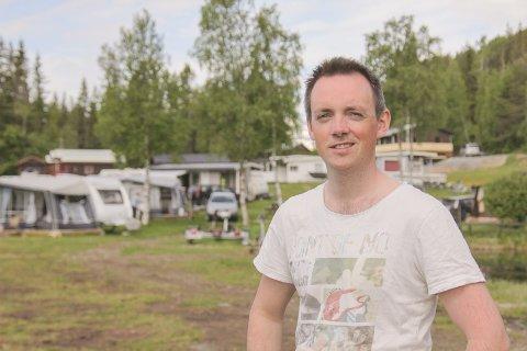 NY I ÅR: Atle Hålien er ny eigar og drivar ved Hålimo camping før sommaren 2020.