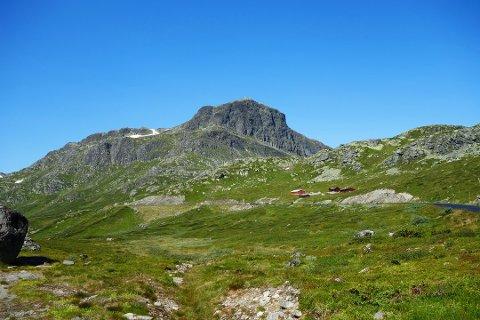 Kvinnen hadde planlagt en trygg tur opp på Bitihorn, kom vekk fra ruten hun hadde planlagt. Foto:Arkiv