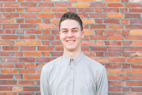 FILMTALENT: Oddmund Rabben (23) fra Røn er valgt ut som filmtalent, og skal gjennom et talentprogram det neste halvannet året.