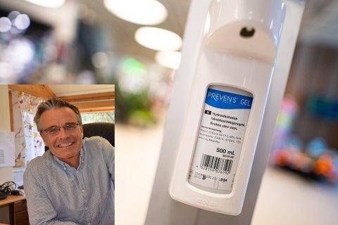 DOBLET: Rådmann Jostein Aanestad i Øystre Slidre forteller det er bedrevet aktiv kontrollvirksomhet i 2020, etter at kommunene i tillegg til kontroll av alkohol og tobakk, ble oppfordret til å kontrollere smittevernet.