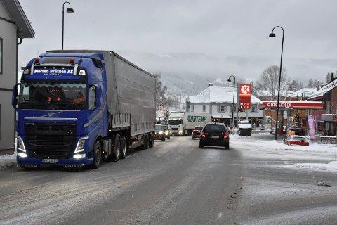 SKUFFELSE: Lokale krefter er svært misfornøyd med at strekningen Fagernes sør-Hande ikke kom inn igjen i Nasjonal transportplan.