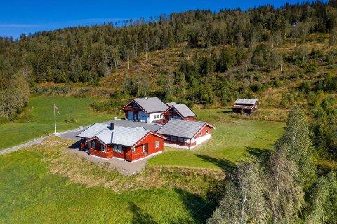DYRASTE EIGEDOM: Dette småbruket i Røn med tilhøyrande støl på Jaslangen vart selt for 7,7 millionar kroner i februar.