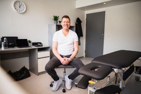 HELTIDSVALDRIS: Morten Skjønnhaug flyttet kanskje til Valdres for nesten ni år siden, men det er først nå han har gjort heltidsvaldris av seg, med fersk filial på Fagernes.