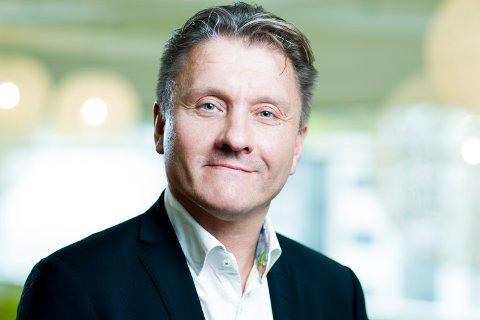 STOR INTERESSE: Rune Sandvik, administrerende direktør i Burger King, sier det var mange gode kandidater til stillingen som restaurantsjef for den nye restauranten som kjeden åpner på Leira.