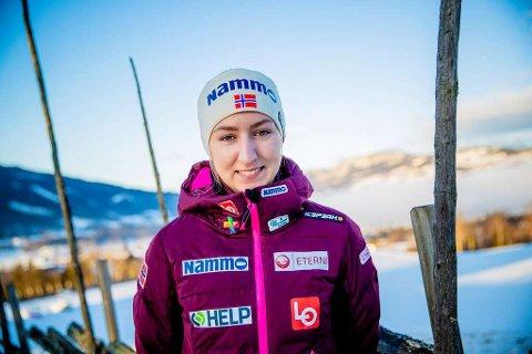 LEGGER OPP: I en alder av kun 21 år har skader gjort at skihopperen Ingebjørg Saglien Bråten fra Etnedal gir seg.
