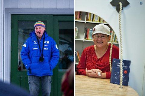 KULTURPRISVINNERE 2021: Kjell Ivar Fossnes og Cecilie Solar.