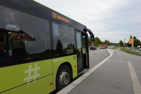 BYTTER PLATTFORM: Nattavgangene til Nittedals-bussen skal ha avgang fra en annen plattform enn den plattformen dagavgangene har. Dette er fordi Oslo bussterminal stenger klokken 00.55. Noen nattavganger skal likevel ha skjedd fra plattformen som dagavgangen bruker.
