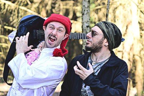Igor Dunderovic og Demetrio Scopelliti inviterer til familieforestilling i Flammen.