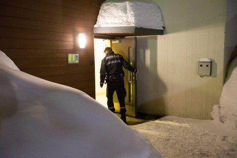 DRAPSSIKTET: Mannen i 40-årene er siktet for forsettelig drap etter at en mann i 30-årene ble skutt i en leilighet i Mattias skytters vei på Mo lørdag kveld.