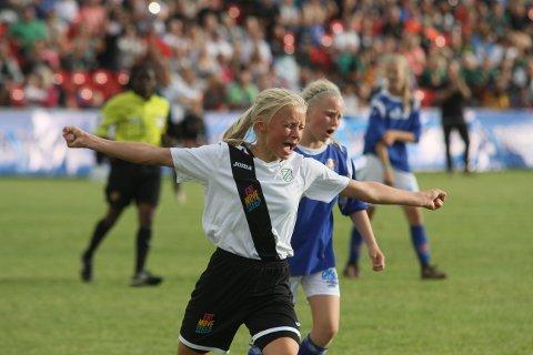 SEIER TO ÅR PÅ RAD: I 2016 vant GIF (bildet) og i fjor Varpe. Kan det bli en tredje triumf i Norway Cup i 2018?