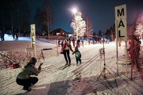 TIDLG KRØKES: Mathis Querville var en av de aller yngste deltakerne i tirsdagens renn.