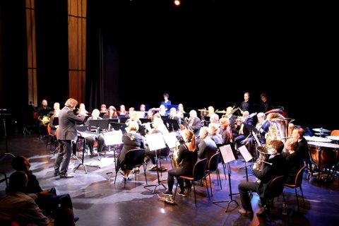 Nittedal og Hakadal Janitsjar og Kolbu Janitsjar inviterer til konsert i Flammen søndag ettermiddag (Arkivfoto).