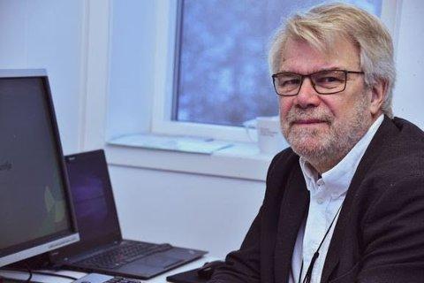 ADVARER: - Skatteetaten sender aldri e-post med lenker som du skal klikke på, sier sikkerhetssjef i Skatteetaten Svein Mobakken.
