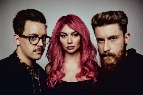 LÖV: Bandet består av Martin Halla, Marte Eberson og Kristoffer. De høster gode kritikker, og har funnet et særegent lydbilde.