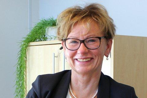 TEGNTILBEDRING:Daglig leder Marit Wiik i Eiendomsmegler 1 Nittedal ser etter nyttår tegn til at boligmarkedet har tatt seg opp.