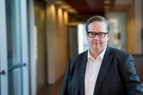MIDLERTIDIG VARAORDFØRER: Helge Fossum I Fremskrittspartiet i Nittedal kommune.