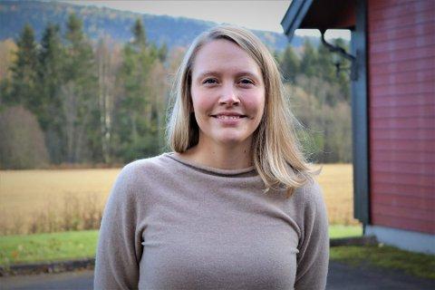 KORONA: Monica Torp Olufsen i Nittedal Næringsforening. I år vil juryen blant annet legge ekstra vekt på hvordan bedriftene har håndtert koronapandemien.