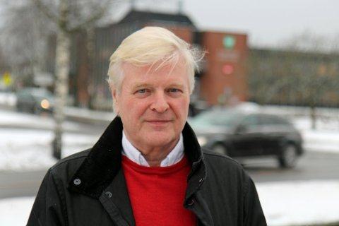 FORTVILET: Odd Sæther har vært utbygger for hele området som nå er tatt av et voldsomt ras på Ask i Gjerdrum. Han er selv evakuert.