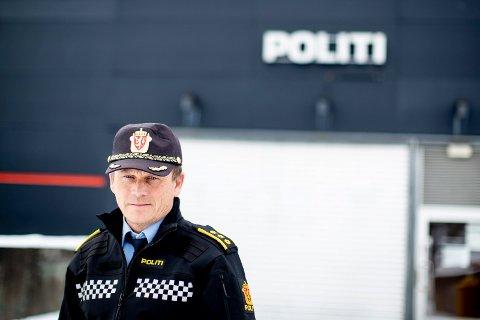 ØKNING: Etterforskningsleder Bjørn Bratteng opplyser at politiet ser en økning i antall butikktyverier. – Bekymringsverdig, sier han.
