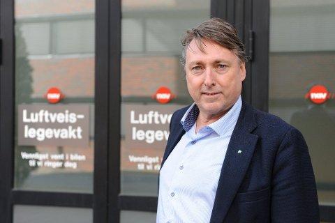 UAVKLART SMITTESITUASJON: Ordfører i Nittedal, Inge Solli (V), sier smittetallene den siste tiden har variert fra dag til dag.