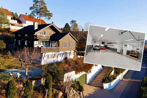 UPRØVD MARKED: Boligen i Hakadal har en prislapp på 9,5 millioner kroner.