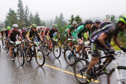 SYKKEL: Til høsten blir det muligheter for å sykle fra Rena til Lillehammer. Dette bildet er fra 2019.