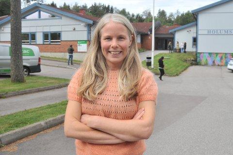 FØRSTEKANDIDAT:Kirsti Bergstø (SV)er oppvokst i Finnmark, men har slått rot på Skillebekk og betegner seg som stolt nittedøl.
