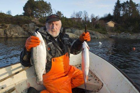 Fiskeren Torfinn Eide føler seg motarbeidet. Arkivfoto: Magne Turøy