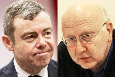 Byutviklingsbyråd Henning Warloe (H) og gruppeleder i Rødt, Torstein Dahle, er ikke nådig i sin kritikk av BOB sin håndtering av forkjøpssaken.