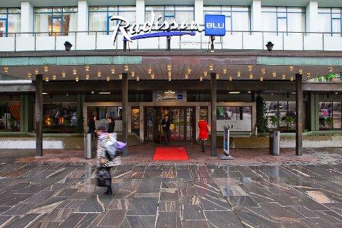 Hotel Norge midt i Bergen sentrum. FOTO: EMIL WEATHERHEAD BREISTEIN