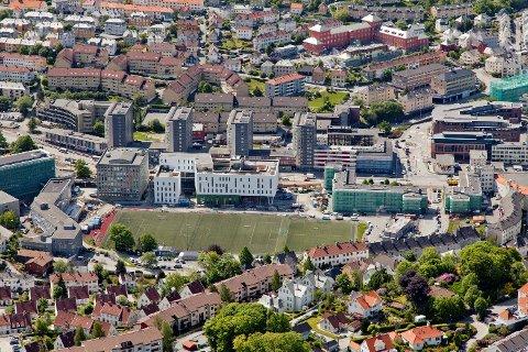 Boligprisene steg i Bergenhus og Årstad i juli, men falt i resten avBergen.