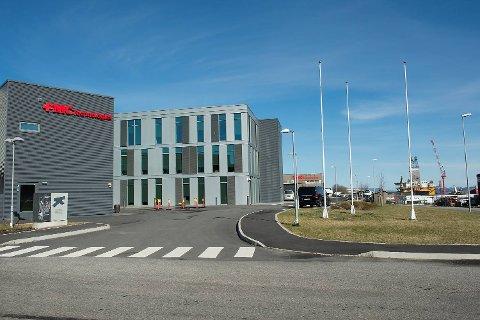 FMCs base på Ågotnes. (Arkivfoto: Arne Ristesund)