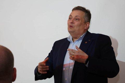 NITO-president Trond Markussen er sikker på gode utsikter for si eiga yrkesgruppe. FOTO. OLAV HATLEMARK