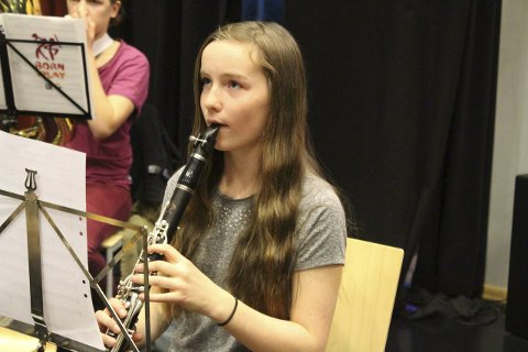 Pendler: Selma Risvik (13) reiser fra Kongsvinger til Son hver uke!