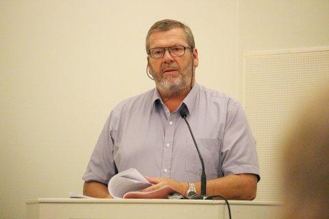 Tom Anders Ludvigsen blir ordfører i Vestby kommune de neste fire årene.