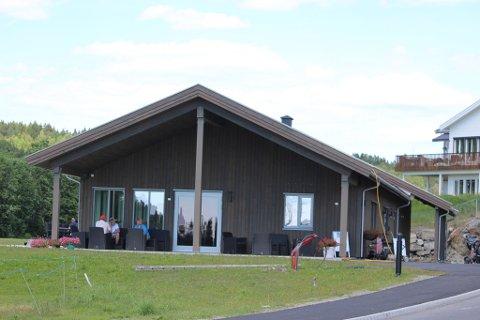 KLUBBHUSET: Her er det nye klubbhuset til Soon Golfklubb og Soon Golfbane.