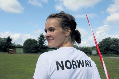 VANT: Andrea Enerstad Bolle stakk av med seieren i Norsk Spydgalla lørdag. Fredag ble hun nummer tre under Norwegian Grand Prix på Bislett.