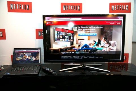 OSLO  20121017.  Netflix, Inc. (NASDAQ: NFLX), verdens mest populære abonnementstjeneste for streaming av filmer og TV-serier, som blir lansert i Norge i dag onsdag.  Foto: Gorm Kallestad / NTB scanpix