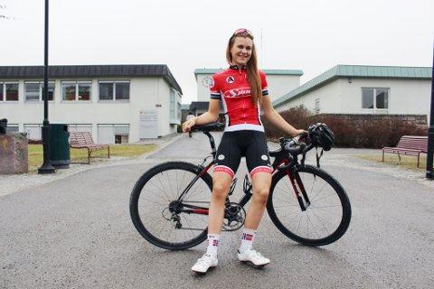 21 år gamle Katrine Aalerud sykler U23-EM i franske Bretagne denne uken.